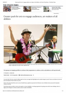 Greater push for arts to engage audienc...News & Top Stories - The Straits Times copy